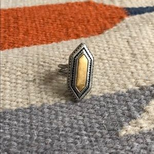 Madewell statement ring